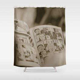 manga Shower Curtain