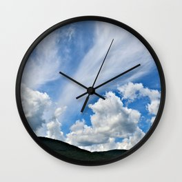 Cloud Path to the Milky Way Wall Clock