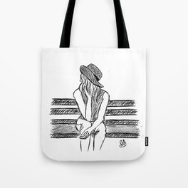Alone time Tote Bag