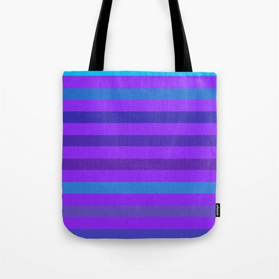 Indigo Stripes Tote Bag