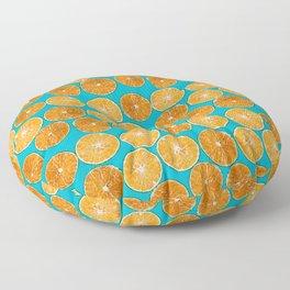 Orange slice Floor Pillow