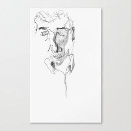 kafka reader Canvas Print
