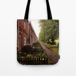 HOUSE ROW. Tote Bag
