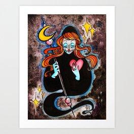 Moon Reaper : Love Art Print