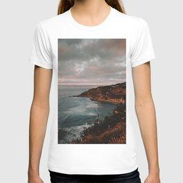 California Coastline Sunset II T-shirt