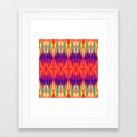carnival Framed Art Prints featuring Carnival by Holly Sharpe