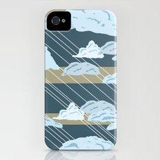 Rain Clouds Slim Case iPhone (4, 4s)