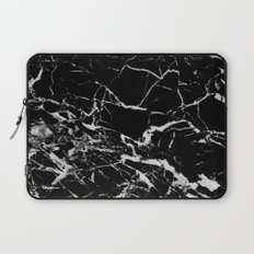 Black Marble Laptop Sleeve