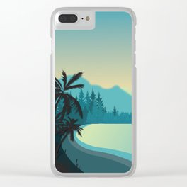 My Nature Collection No. 64 Clear iPhone Case