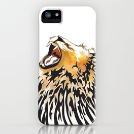 lion barcode iPhone Case