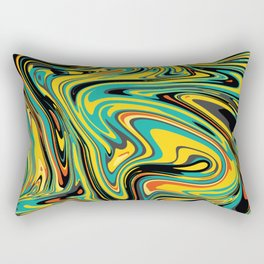 No Mixed Paint Wall Tapestries Rectangular Pillow