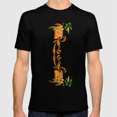 Rabbit Rabbit Mens Fitted Tee Black SMALL