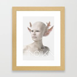 Troika zero-one Framed Art Print