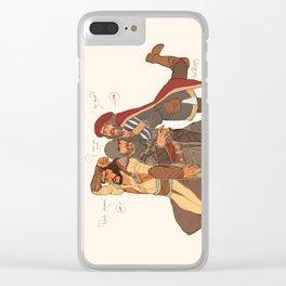 ACEzioLeonardoYusuf Clear iPhone Case