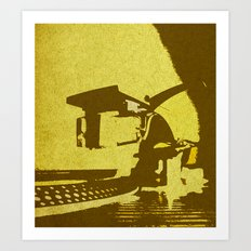 Put the Needle on the Record Art Print
