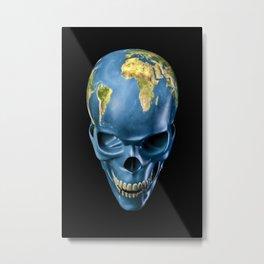 Bad Earth Metal Print