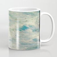 big sur Mugs featuring Big Sur - Pacificus Wondrous  by Jenndalyn