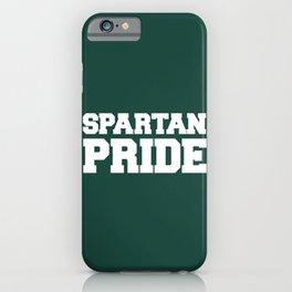 Spartan Pride iPhone Case