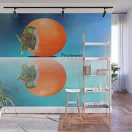 Persimmon  Reflection Wall Mural