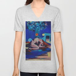 Rooted Down Unisex V-Neck