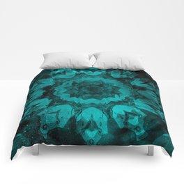 Twilight's Teal Tulip Comforters