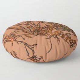 Fallen leaves Floor Pillow
