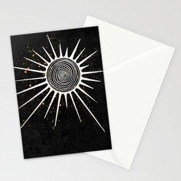 Sunrays and Swirls Inktober :: I Feel An Urgency Stationery Cards