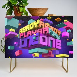 Ready Player One Credenza