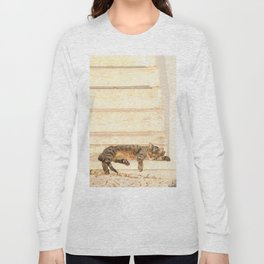 The sun shines on all cats equally Long Sleeve T-shirt