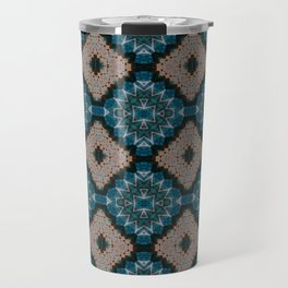 Bluediamond Pattern 4 Travel Mug