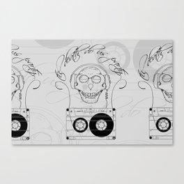 Til Death Do Us Party Canvas Print