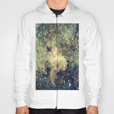 Galaxy Gold & Blue Stars Hoody