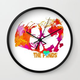 The Ponds Wall Clock