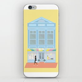 Iko Iko, Cuba Street, Wellington, NZ iPhone Skin