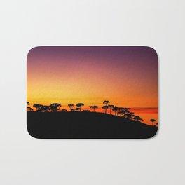 Araucaria Sunset Bath Mat