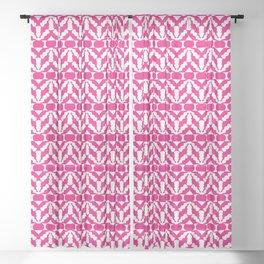 Radish Pop Art Sheer Curtain