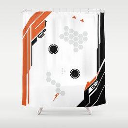 Titanfall skin Shower Curtain