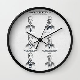 The Illustrated Guide to the Miskatonic Knot Wall Clock