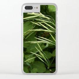 Single stalk Clear iPhone Case