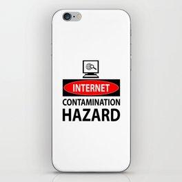 Internet – contamination hazard iPhone Skin