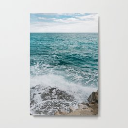 Amalfi Coast Water VI Metal Print