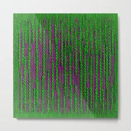 RainForest Pattern Metal Print