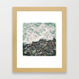 A Beautiful Spring Day at the Beach IV Framed Art Print