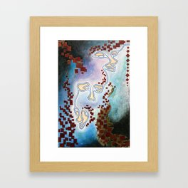 muses Framed Art Print