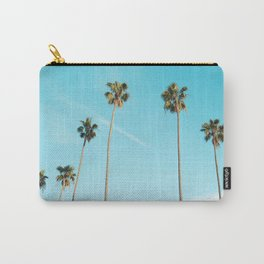 Tropical Miami Palm Trees Carry-All Pouch