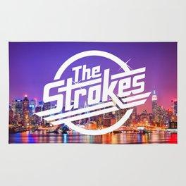 The Strokes Logo New York Night Rug