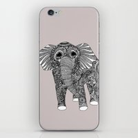 ellie goulding iPhone & iPod Skins featuring Ellie by lush tart