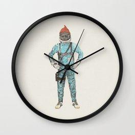 Zissou In Space Wall Clock