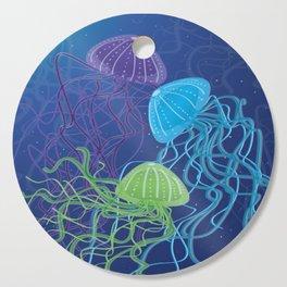 Ethereal Jellies Cutting Board
