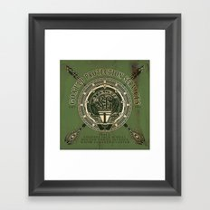 Goa'uld Protection Services Framed Art Print